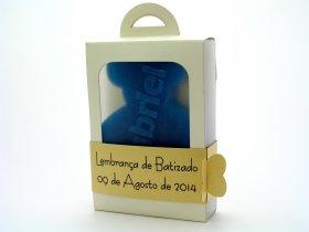 Lembranças de Batizado - Sabonete Ursinho personalizado | TugaSoap