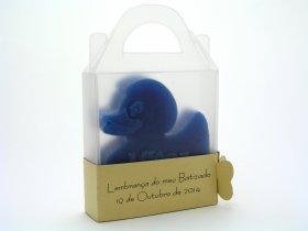 Brindes de batizado - Sabonete Patinho pequeno | Tugasoap