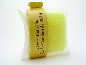 Prendas de batizado personalizado | Sabonete aromático pequeno - TugaSoap
