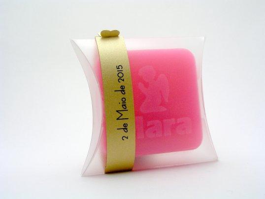 Prenda de batizado personalizado   Sabonete aromático pequeno - TugaSoap